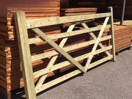 Pressure Treated Five Bar Gate