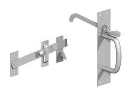 Suffolk Latch Galvanised