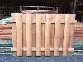 Alternate Board Fencing panel 6'x4' Pressure Treated
