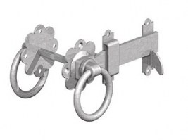 Ring Latch Galvanised